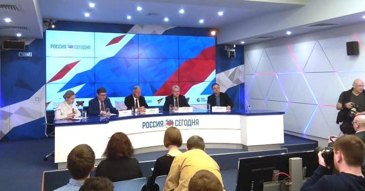 Михаил Антонцев принял участие в пресс-конференции «Первомайские мероприятия профсоюзов в России»